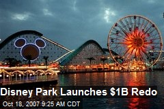 Disney Park Launches $1B Redo