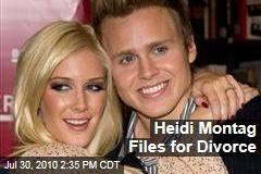 Heidi Montag Files for Divorce