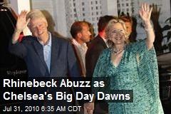 Rhinebeck Abuzz as Chelsea's Big Day Dawns