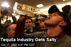 Tequila Industry Gets Salty