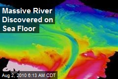 Massive River Discovered on Sea Floor