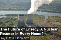 The Future: A Nuclear Reactor In Your Home?