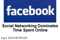 Social Networking Dominates Time Spent Online
