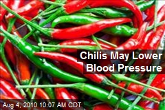 Chilis May Lower Blood Pressure
