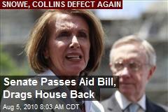 Senate Passes Aid Bill, Drags House Back