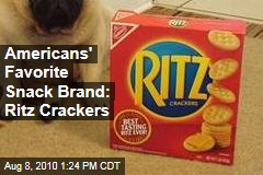 Americans' Favorite Snack Brand: Ritz Crackers