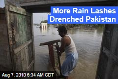 More Rain Lashes Drenched Pakistan