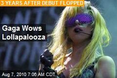 Gaga Wows Lollapalooza