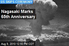 Nagasaki Marks 65th Anniversary