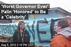 Palin 'Honored' to Be a 'Celebrity'