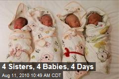 4 Sisters, 4 Babies, 4 Days