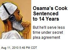 Osama's Cook Sentenced to 14 Years