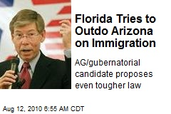 Florida Tries to Outdo Arizona on Immigration