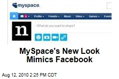 MySpace's New Look Mimics Facebook