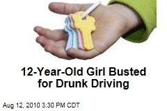 12-Year-Old Girl Busted for Drunk Driving