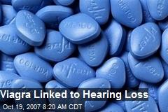 Viagra Linked to Hearing Loss
