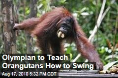 Olympian to Teach Orangutans How to Swing