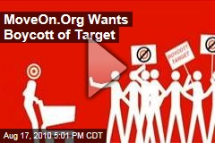 MoveOn.Org Wants Boycott of Target