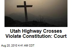 Court: Utah Highway Crosses Violate Constitution