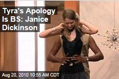 Tyra's Apology Is BS: Janice Dickinson