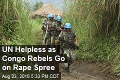 Nearly 200 Women, Boys Raped in Congo