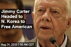 Jimmy Carter Headed to N. Korea to Free American