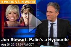 Jon Stewart: Palin's a Hypocrite