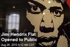 Jimi Hendrix Flat Opened to Public