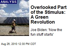 Overlooked Part of the Stimulus: A Green Revolution