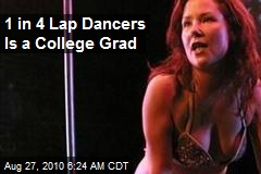 1 in 4 Lap Dancers Is a College Grad
