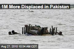 1M More Displaced in Pakistan