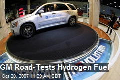 GM Road-Tests Hydrogen Fuel