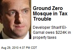 Ground Zero Mosque in Tax Trouble