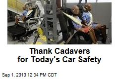 Thank Cadavers for Today's Car Safety