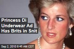 Princess Di Underwear Ad Has Brits in Snit