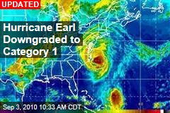 Hurricane Earl Downgraded to Category 1