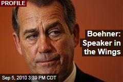 Boehner: Speaker in the Wings