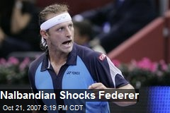 Nalbandian Shocks Federer