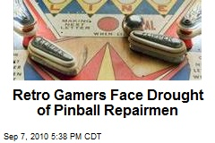 Retro Gamers Face Drought of Pinball Repairmen