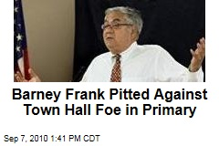 Barney Frank Pitted Against Town Hall Foe in Primary