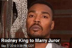 Rodney King to Marry Juror
