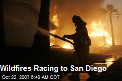 Wildfires Racing to San Diego