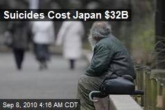 Suicides Cost Japan $32B